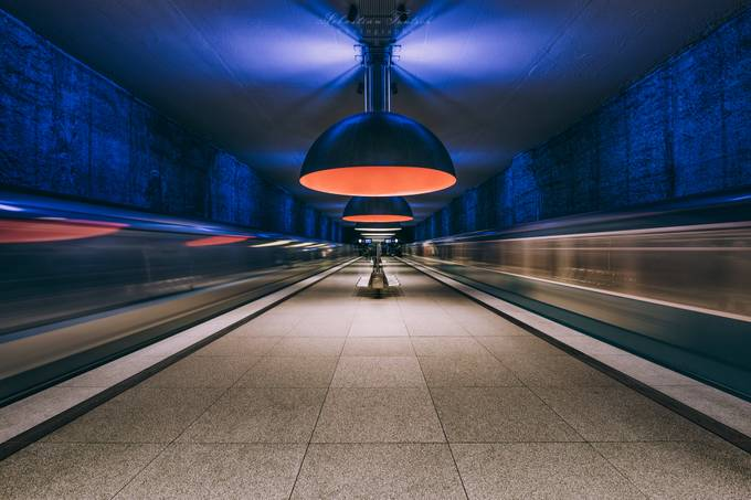 Westfriedhof by sebastiantontsch - Public Transport Hubs Photo Contest