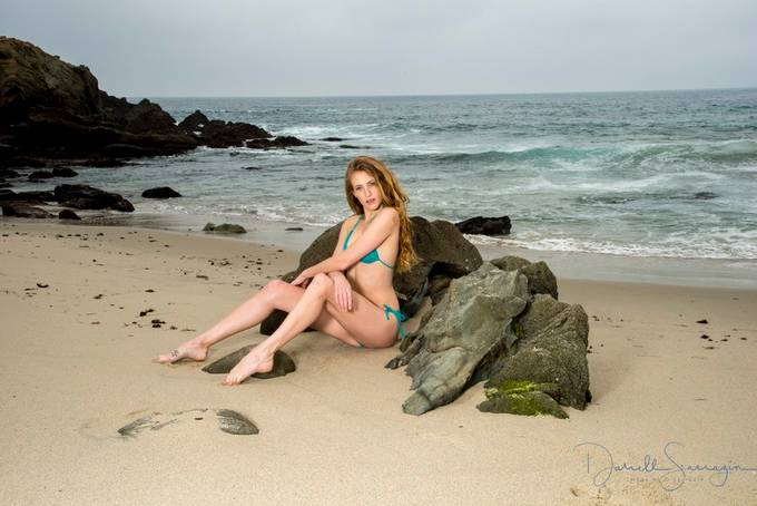 Beach Shoot with Eclipse Monday