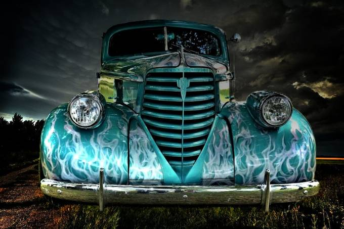 Old car by SweetRay - Social Exposure Photo Contest Vol 20