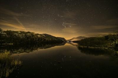 Starry starry night Llyn Padarn