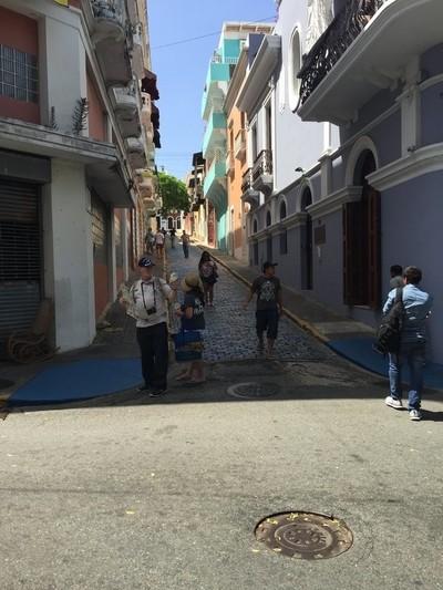 City streets in San Juan.