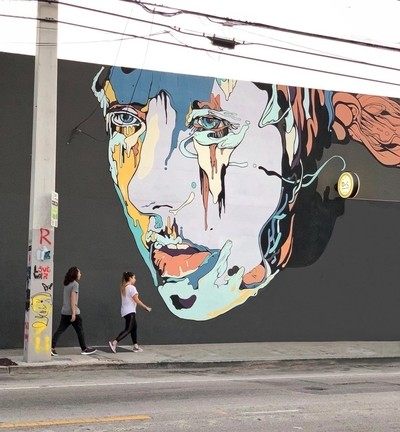 Wynwood at NW 2nd Avenue and NW 22 Street