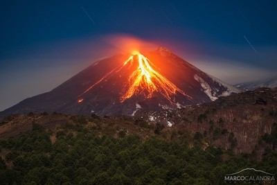 Silent eruption