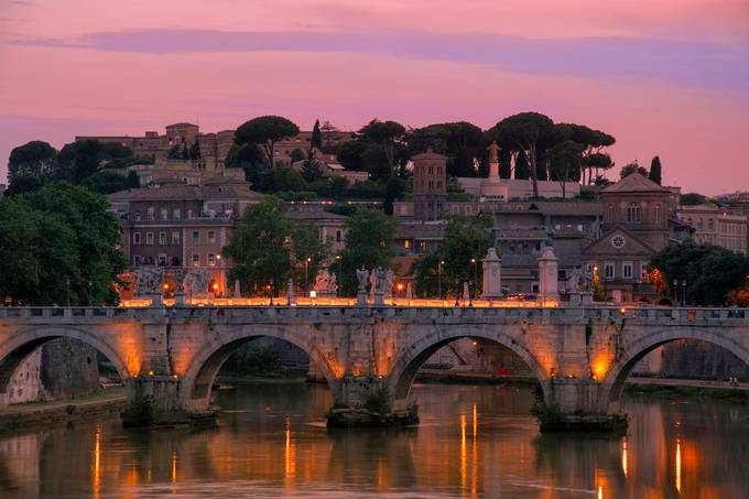 Rome and Vatican in the evening by ArturRydzewski - This Is Europe Photo Contest