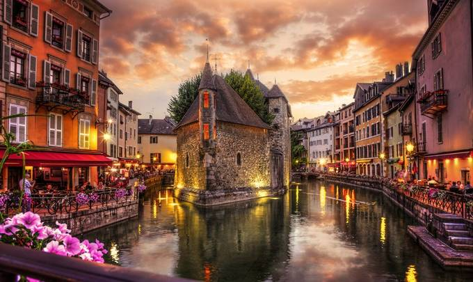 Sunset over Annecy by Dana_Walker - This Is Europe Photo Contest