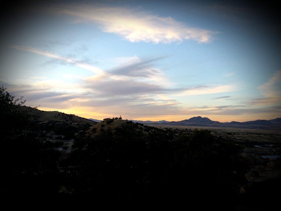 Sunset in Sierra Vista, Arizona
