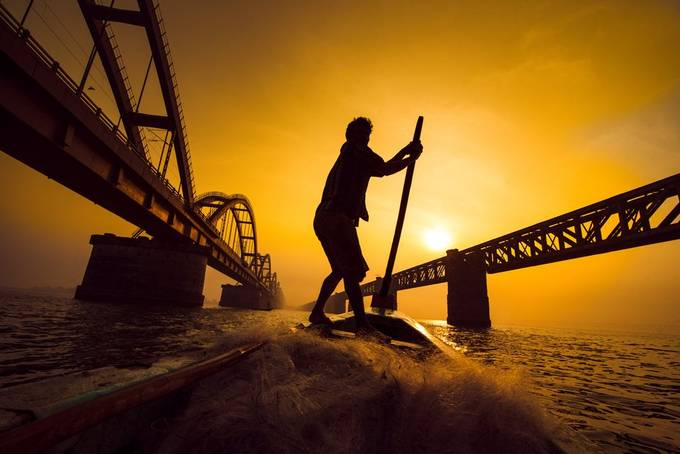 Fisherman at work !! by JourneyWithmyLens - Social Exposure Photo Contest Vol 20