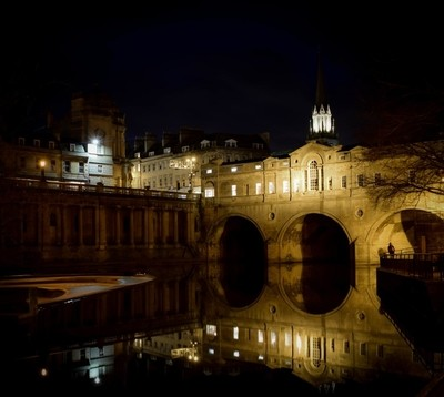Pulteney Bridge at night - Bath