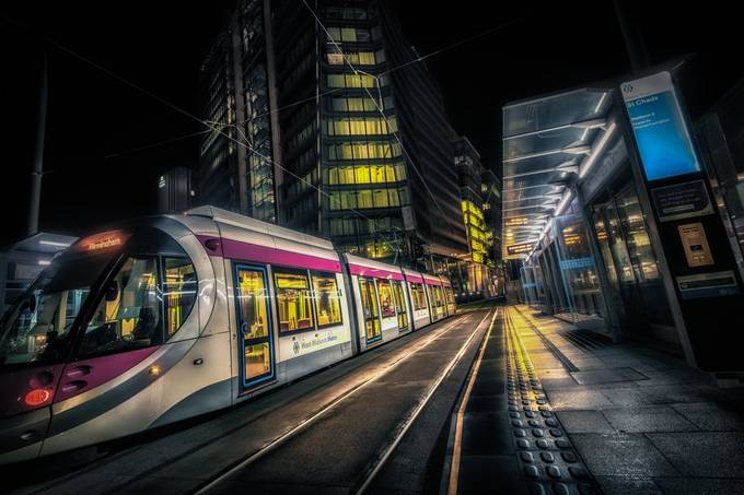 Night At St Chads by CPF_Photography - Public Transport Hubs Photo Contest
