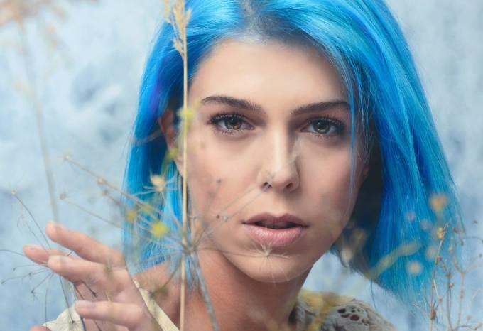 Blue Fairy by Ledopix - Portraits With Depth Photo Contest