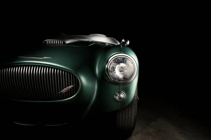 Austin Healey 100M  by Fotovanjeauto - We Love Cars Photo Contest