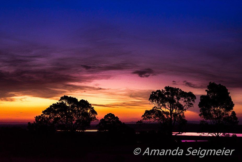 Afternoon Walk Sunset