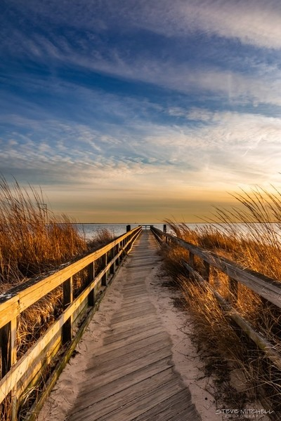 Long Walk Off A Long Pier