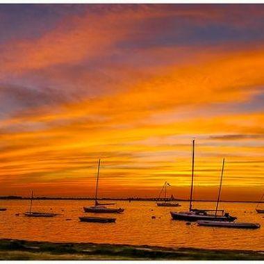 LBI Surf City Sunset