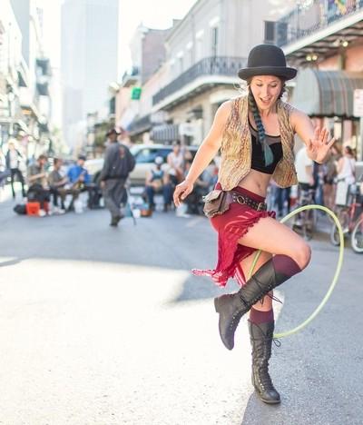 The Hula Hoop Girl