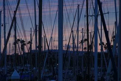 mast of sailboats