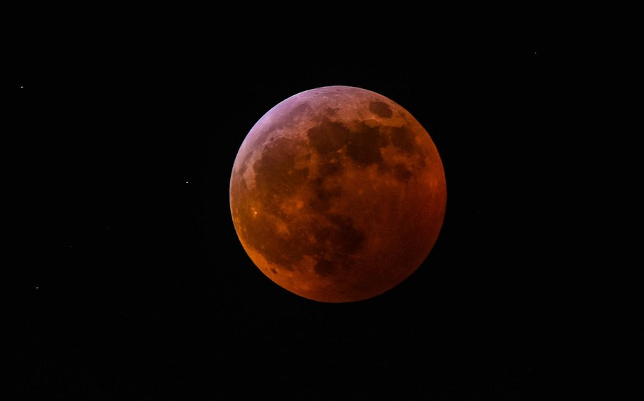 Super Blood Wolf Moon 01/21/2019 - Cincinnati Ohio