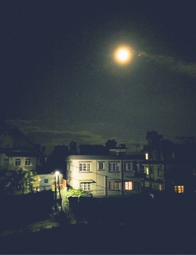 being friends with the moon