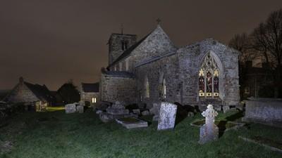 Parish Church at Night