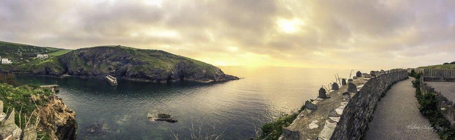 Sunset Port Isaac