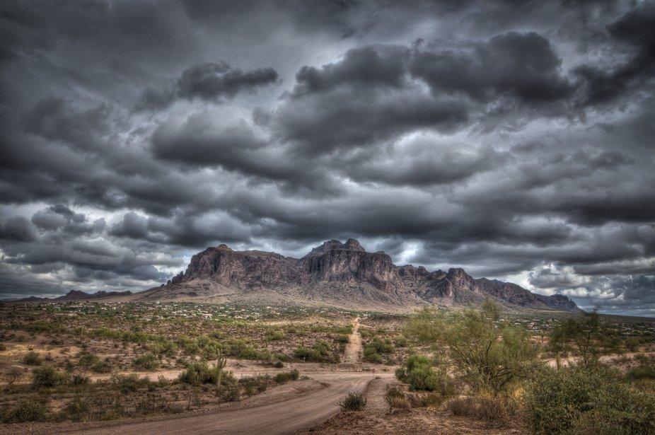 A rainy day in AZ