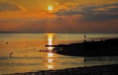 Sunset Hillhead, UK