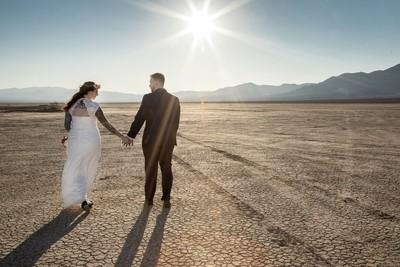 Wedding at Dry Lake Bed Boulder City