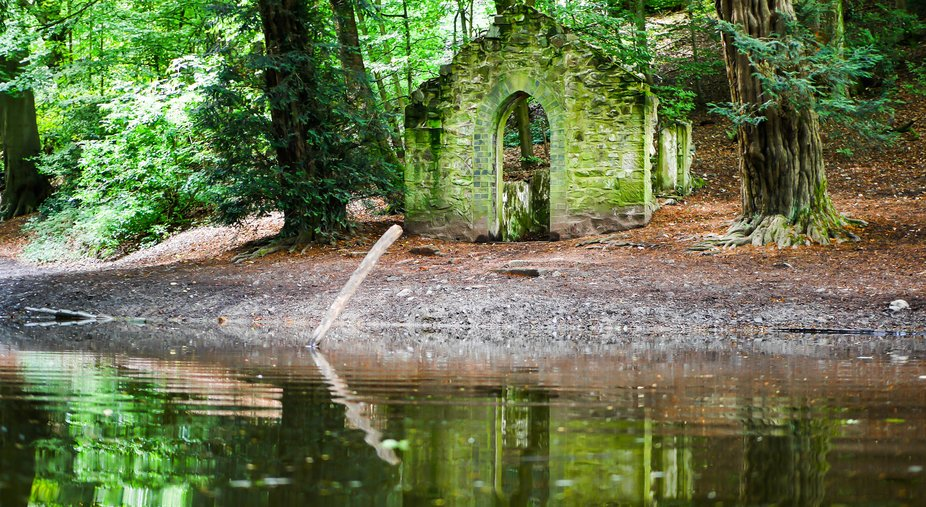 Folly in Rectory woods, Shropshire
