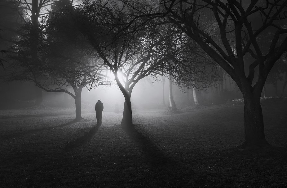 Taken at 3.00am in a misty night