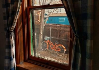 Bike and Window_Hotel Vendome_Prescott Arizona_Friday March16 2018