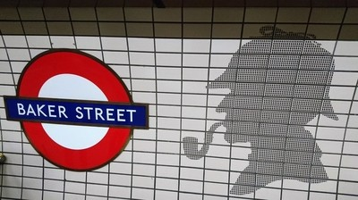 Sherlock Holmes at Baker Street
