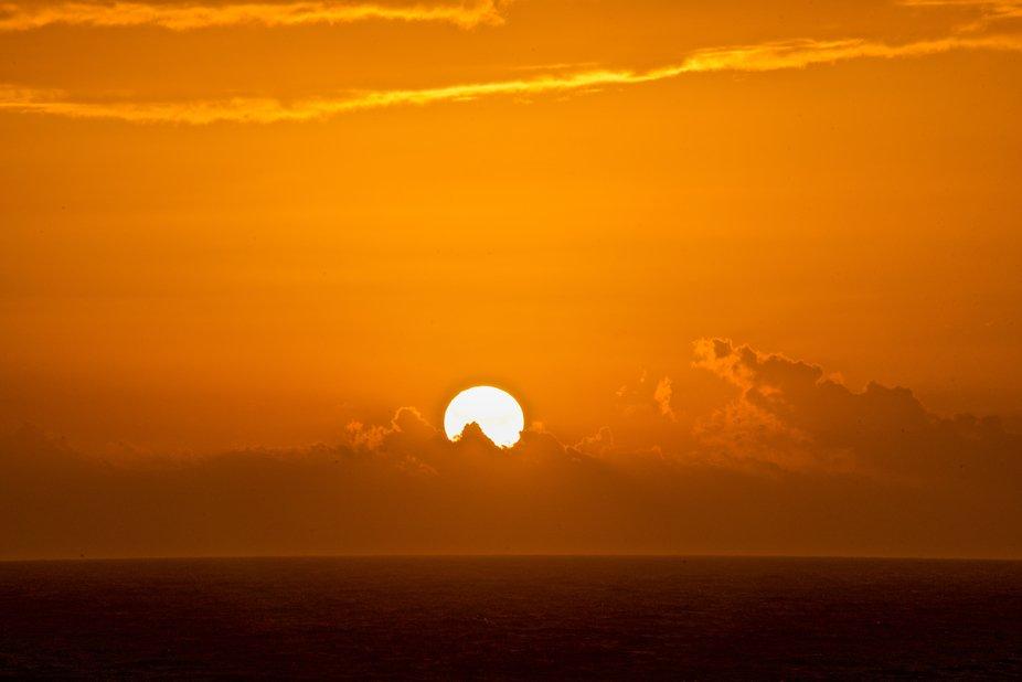 Series of Christmas Sunrises in the Caribbean