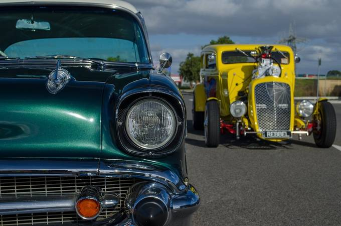 Two classics by philipwood_2998 - We Love Cars Photo Contest