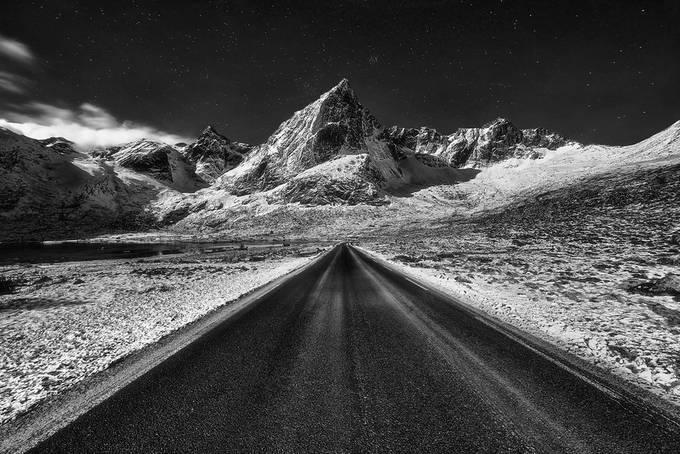 On the way by jansieminski - Straight Roads Photo Contest