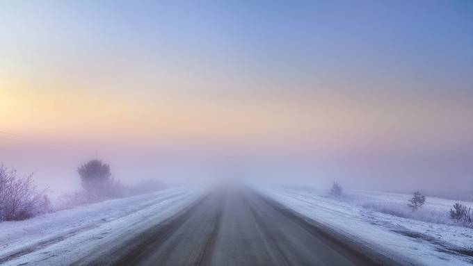 Road without end by AlexanderTumashov - Straight Roads Photo Contest