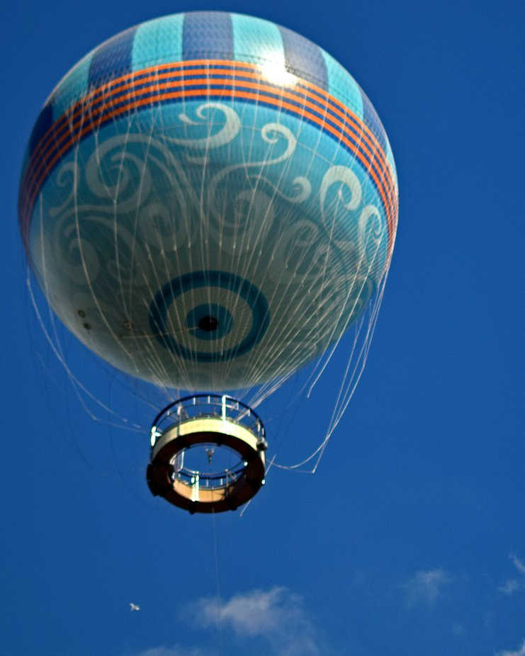Character flight balloon at Disney Springs FL.