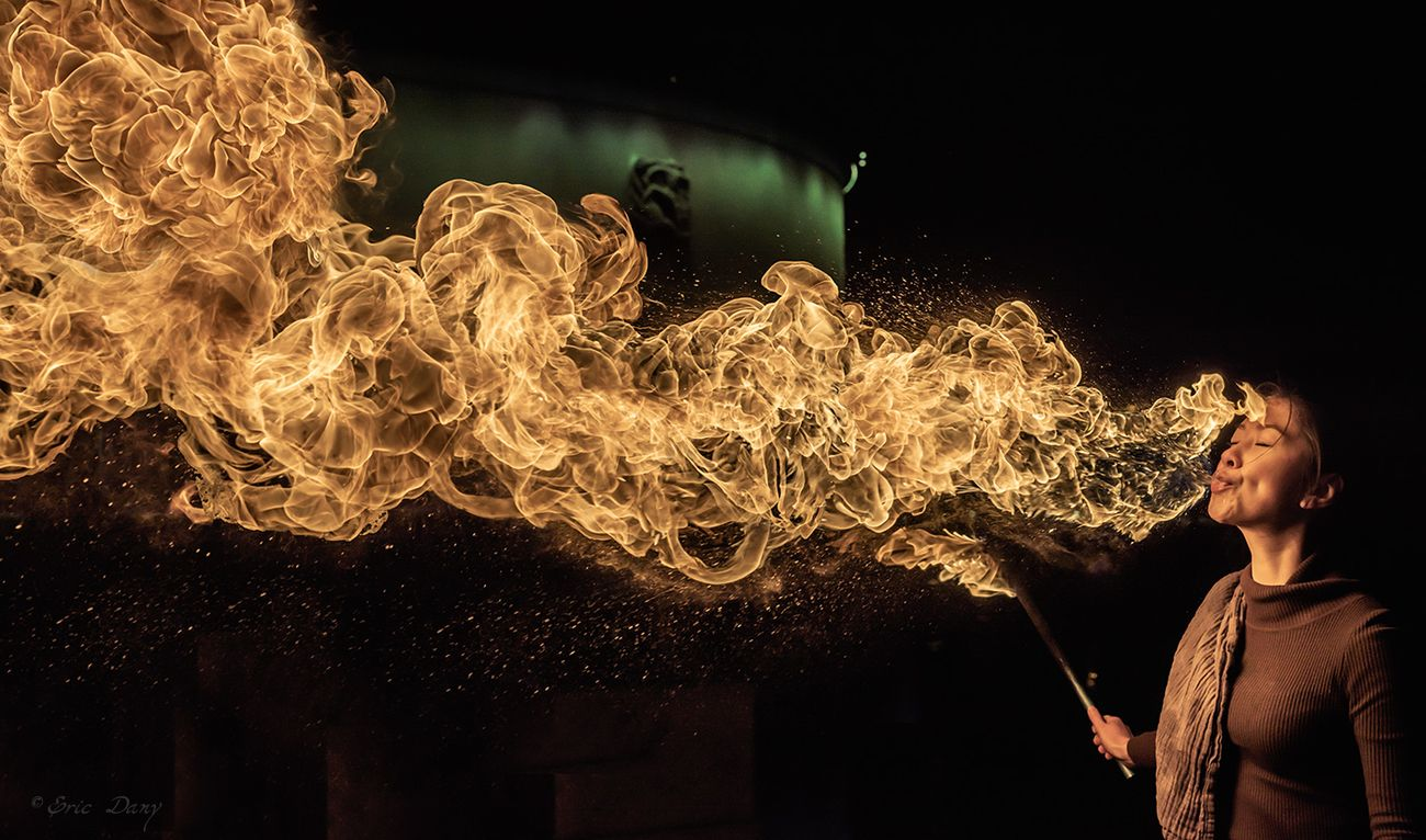 Behind The Lens: Fire Breathing