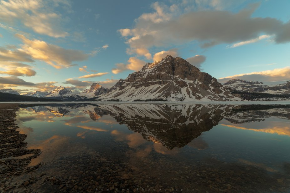 It never disappoint waiting for the sunrise at Bow Lake. Hope you enjoy!