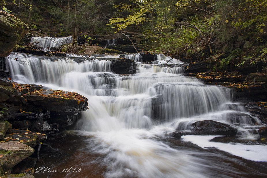 Delaware Falls at Ricketts Glen State Park