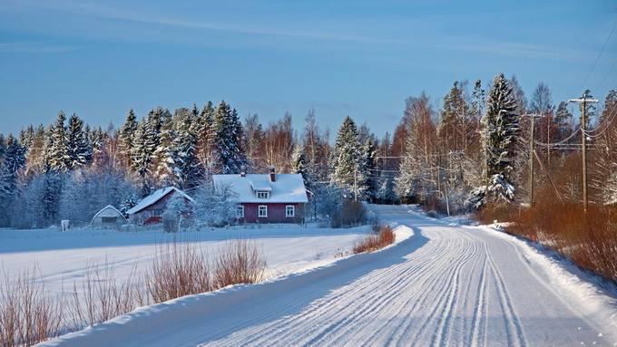 Winter Drive by klauskannas - Winter Roads Photo Contest