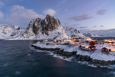 Part of the Lofton Islands in Norway!