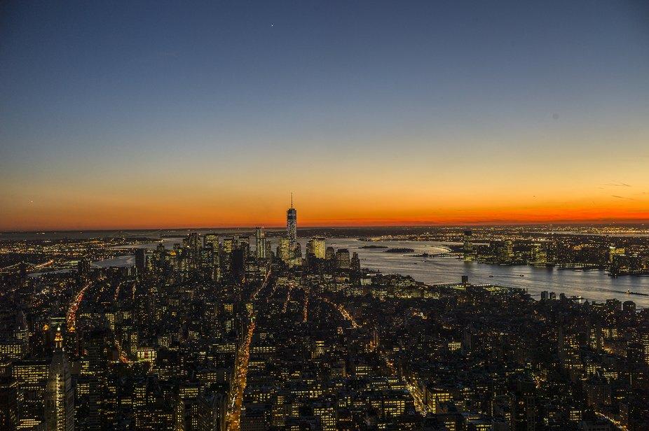Vista de Nueva York desde el Empire