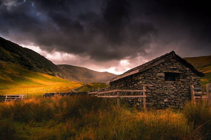 Shelter From the Storm by onedadandhiscamera - Isolated Cabins Photo Contest