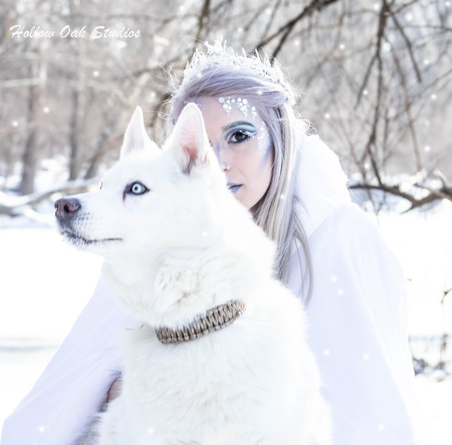 Narnia Ice queen concept  Model: Jenni Moliter Hair & make Up Payton Lambert  Photo by Jo...