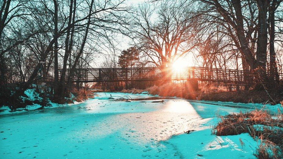 Cold Sunny Bridge