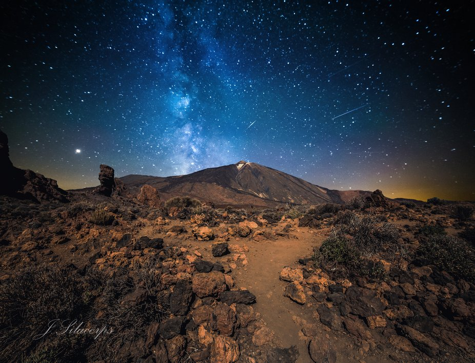 This place never seizes to surprize. Mount Teide is a volcano in Tenerife in the Canary Islands, ...
