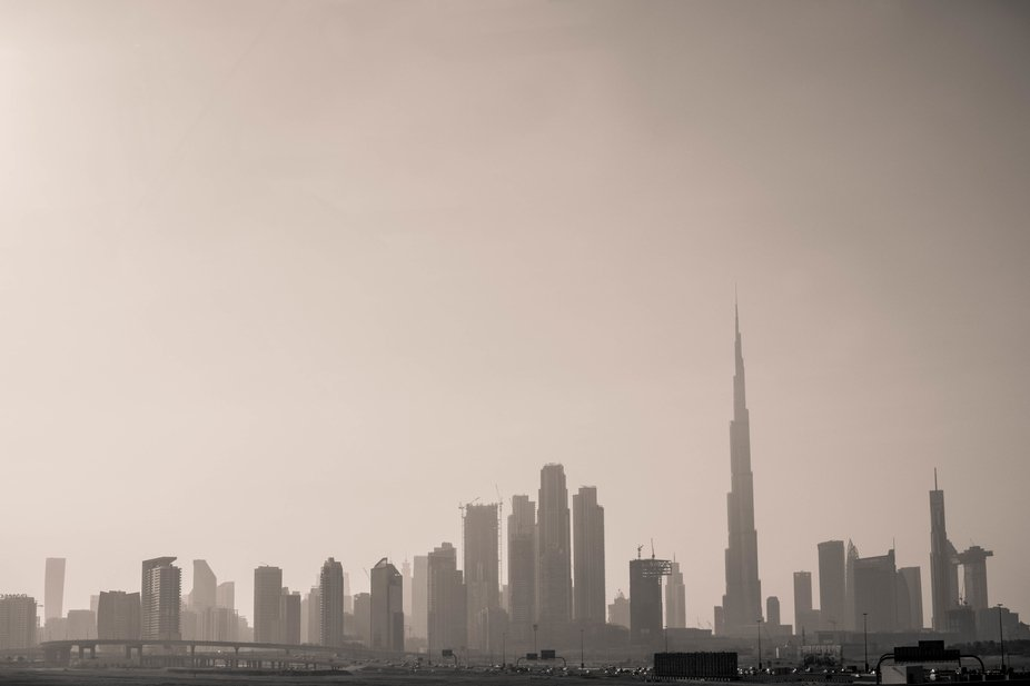 A fraction of Dubai's massive skyline