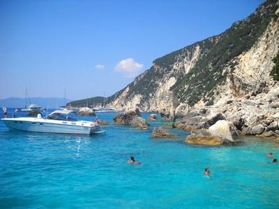 Ionian Sea. Greek Islands.