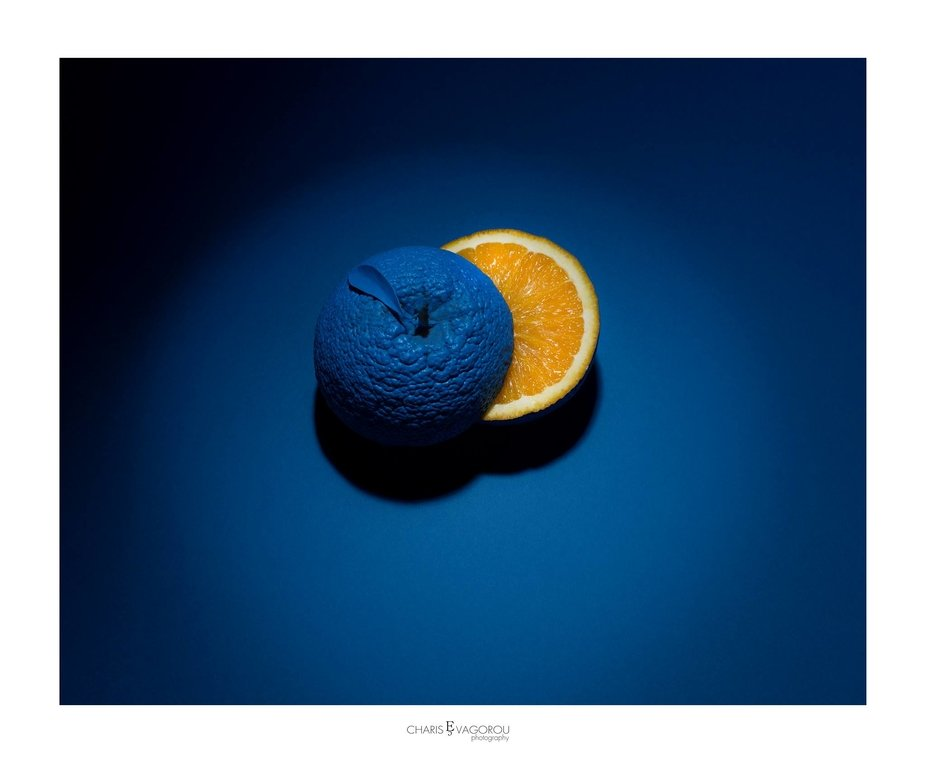 Photo: Charis Evagorou It\'s all about ...  Lighthall productions #orange #colour #broncolor #hass...