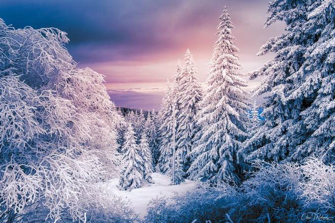 Winter Mountain by CJR_Photography - We Love The Winter Photo Contest